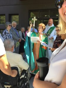 Blessing of the ramp